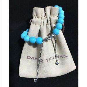 🌟David Yurman turquoise spiritual bead bracelet